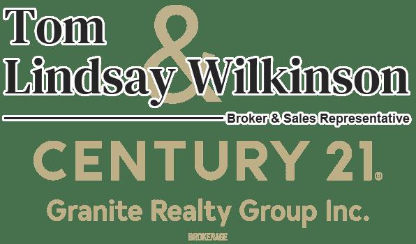 Tom & Lindsay Wilkinson - Century 21 Granite Realty Group Inc. Brokerage